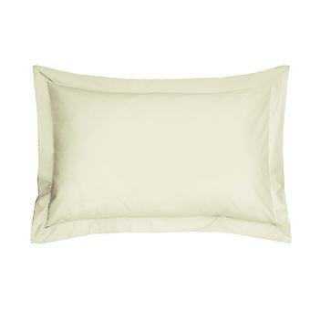 Elfenbein ägyptische Baumwolle Oxford Kissenbezug