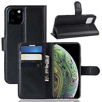 FONU einfache Bücherregal Fall iPhone 11 Pro Max - schwarz