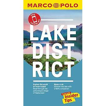 Lake District Marco Polo Pocket Travel Guide - with pull out map by M