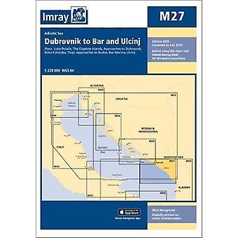 Imray Chart M27 - Dubrovnik to Bar and Ulcinj by Imray - 9781786790477