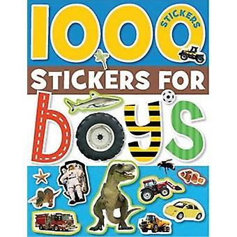 1000 Stickers for Boys by Make Believe Ideas Ltd - 9781848790704 Book