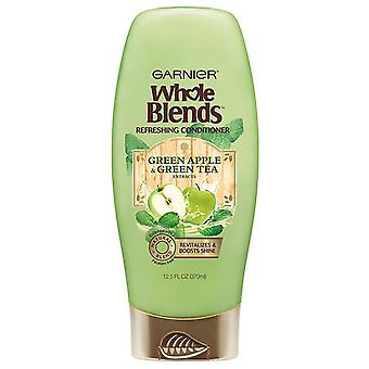 Garnier refreshing conditioner, green apple & green tea, 12.5 oz