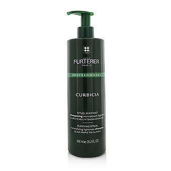 Curbicia puhdistus rituaali normalisoi keteyttä shampoo päänahka altis öljyisyys (salonkituote) 221821 600ml / 20.2oz