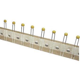 TANCAP CT4-0805B104K500C1T Ceramic capacitor THT 100 nF 50 V 10 % (W x H) 4.2 mm x 25 mm 1 pc(s)