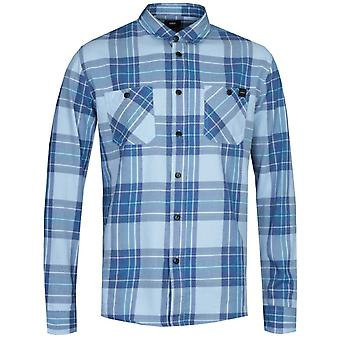 Edwin Light Blue Checked Työpaita