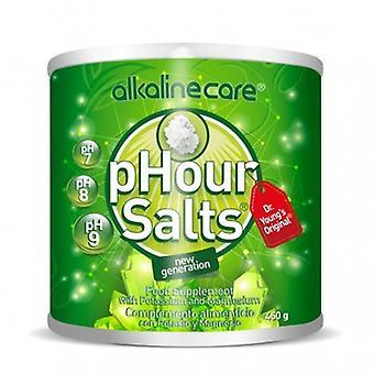 アルカリケア pHour ソルト 450グラム