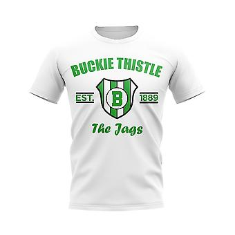 Buckie Thistle Established Football T-Shirt (White)