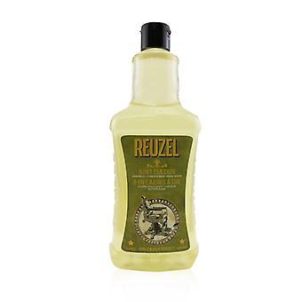 3-in-1 Tea Tree Shampoo Conditioner Body Wash - 1000ml/33.81oz