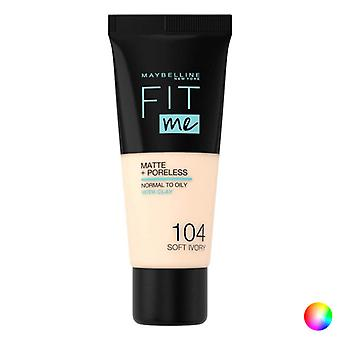 Neste Meikki Base Fit Me! Maybelline (30 ml)/101-todellinen norsunluu 30 ml