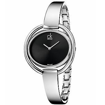 Calvin Klein K4F2N111 Impetuous Black Dial Ladies Watch