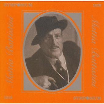 Sings Tosti/Verdi/Mozart/Gluck [CD] USA import