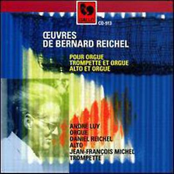 B. Reichel - Reichel: Trumpet & Organ [CD] USA import
