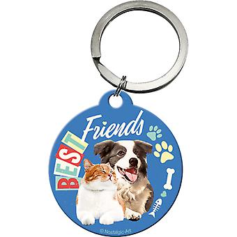 Pet Best Friends Original Nostalgic Keyring - Cracker Filler Gift