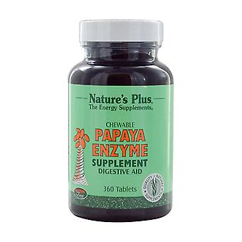 Papaya Enzyme Chewable 360 tablets