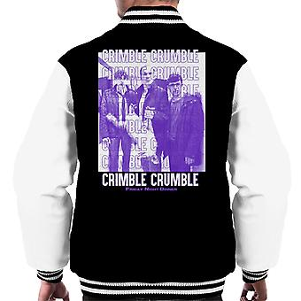 Friday Night Dinner Crimble Crumble Men's Varsity Jacket