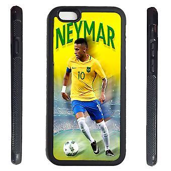 iPhone 6 6s Shell Brasilien Spieler Neymar Gummischale