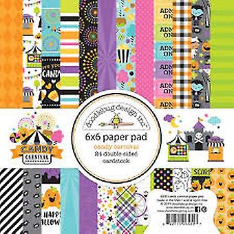 Doodlebug Design Candy Carnival 6x6 Inch Paper Pad