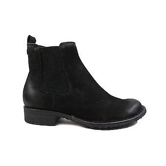 תמריס 25422 שחור עור נשים מגפי צ'לסי