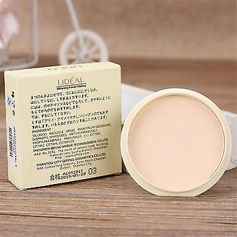 Pressed Powder -waterproof, Long Lasting e Oil Control Face Foundation