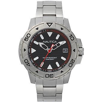 NAPEGT005, Relojes Náutica Edgewater para hombre -Negro