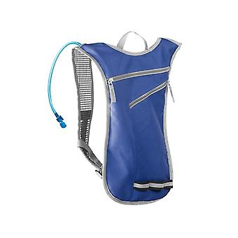 Backpack with Water Container - Blue