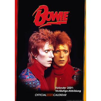 David Bowie Calendar 2021 Official Calendar 2021, 12 Months, A3, original English version.