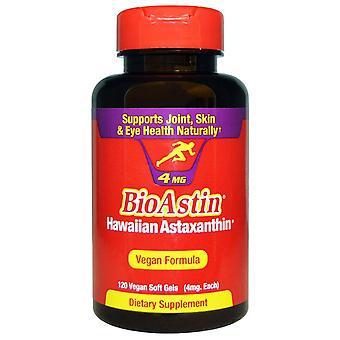Nutrex Hawaii, BioAstin, 4 mg, 120 Vegan Soft Gels