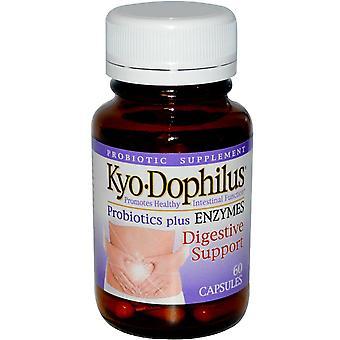 Kyolic, Kyo Dophilus, Probiotiques Plus Enzymes, 60 Capsules