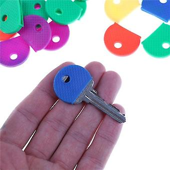 Fashion Hollow Multi Color Rubber Soft Key Locks Touches Cap