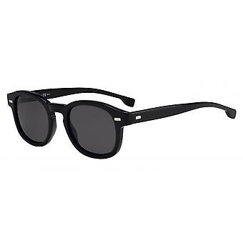 Okulary przeciwsłoneczne Mężczyźni 0999/S807/IR Męskie czarne/szare