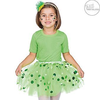 Prikker Tulle Nederdel LED (inkl. batterier) Kids Costume Girl Prikker Tutu Mini Nederdel