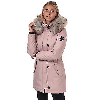 Women's Only Iris Winter Parka Jacket in Pink