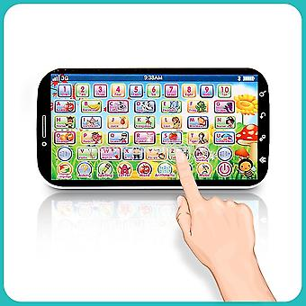 English Language Learning Machine Multifunction Phone Abc Letter Word Number Musical Yphone For Kid Educational Learning Toy
