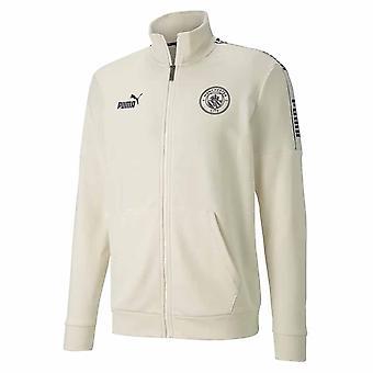 2020-2021 Manchester City FtblCulture Track Jacket (White)