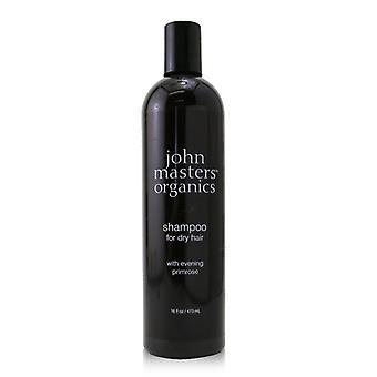 John Masters Organics Shampoo voor droog haar met Teunisbloem 473ml/16oz