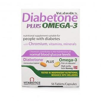 Vitabiotics - Diabetone Plus Tablets 56s