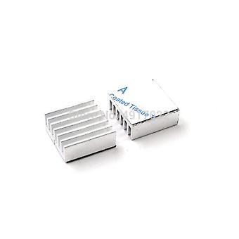 Silver Computer Cooler Radiator Aluminum Heatsink Heat Sink For Electronic Cooling Pads