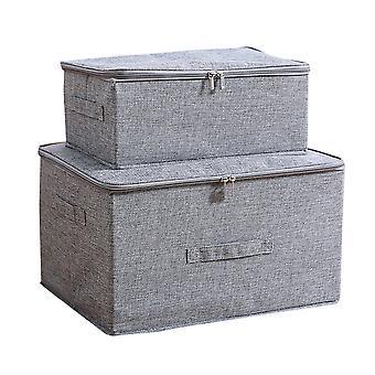 YANGFAN Pliable Under-bed Zipper Storage Box