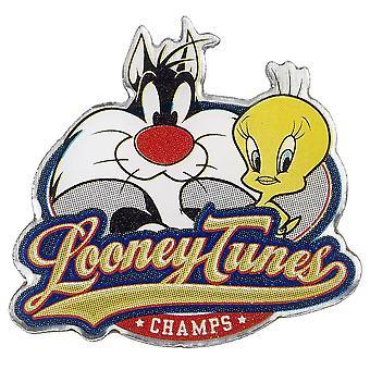 Looney Tunes Metal Badge