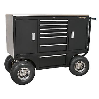 Sealey Appc07 Pit/Yard Cart 7 Schublade Heavy-Duty
