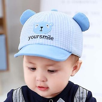 Cute Cartoon Baby Cap With Ears