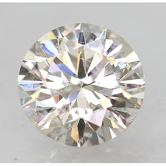 Zertifiziert 0.54 Karat G VS1 Runde Brilliant Enhanced Natural Loose Diamond 5.27mm