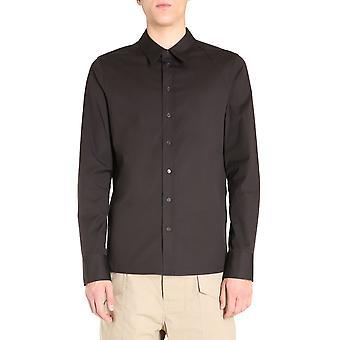Bottega Veneta 639649vkix02113 Heren's Brown Cotton Shirt