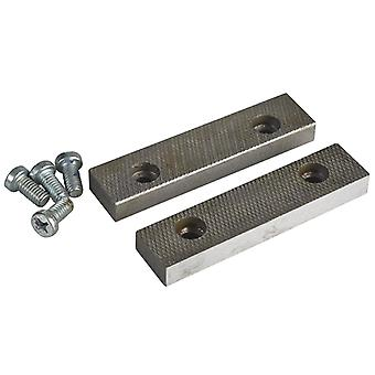 """IRWIN Record PT.D Replacement Pair Jaws & Screws 115mm (4.1/2"""") 23 Vice RECPTO23"""