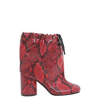 Maison Margiela S39wu0094s48432961 Women's Red Polyester Ankle Boots