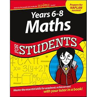 Années 6 - 8 Mathématiques pour les étudiants