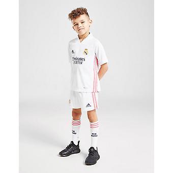 New adidas Kids' Real Madrid 2020/21 Home Kit White