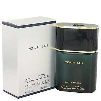 Oscar Pour Lui By Oscar De La Renta Eau De Toilette Spray 3 Oz (men) V728-400209