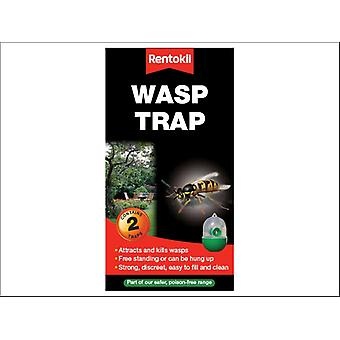Rentokil Wasp Trap Twin Pack FW32