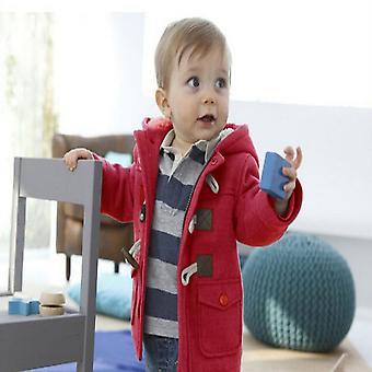 Automne, veste d'hiver pour bébé - Vêtements d'extérieur en laine chaude